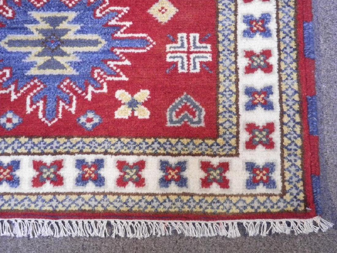 Simply Gorgeous Handmade Kazak Design 3x4.11 - 4