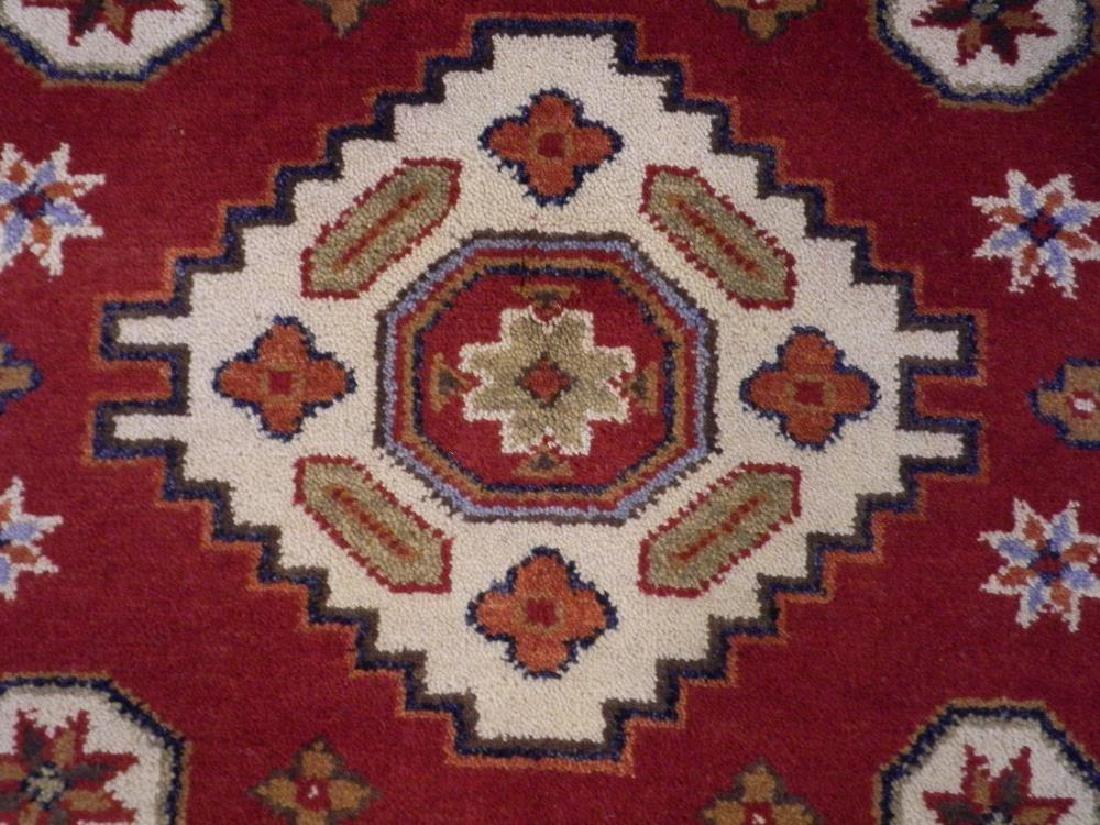 Collectible Handmade Kazak Design 3.11x5.11 - 3