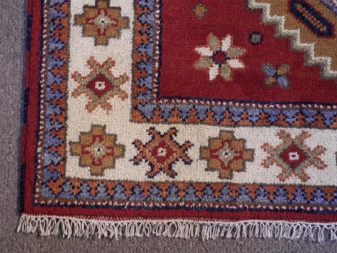 Collectible Handmade Kazak Design 3.11x5.11 - 4