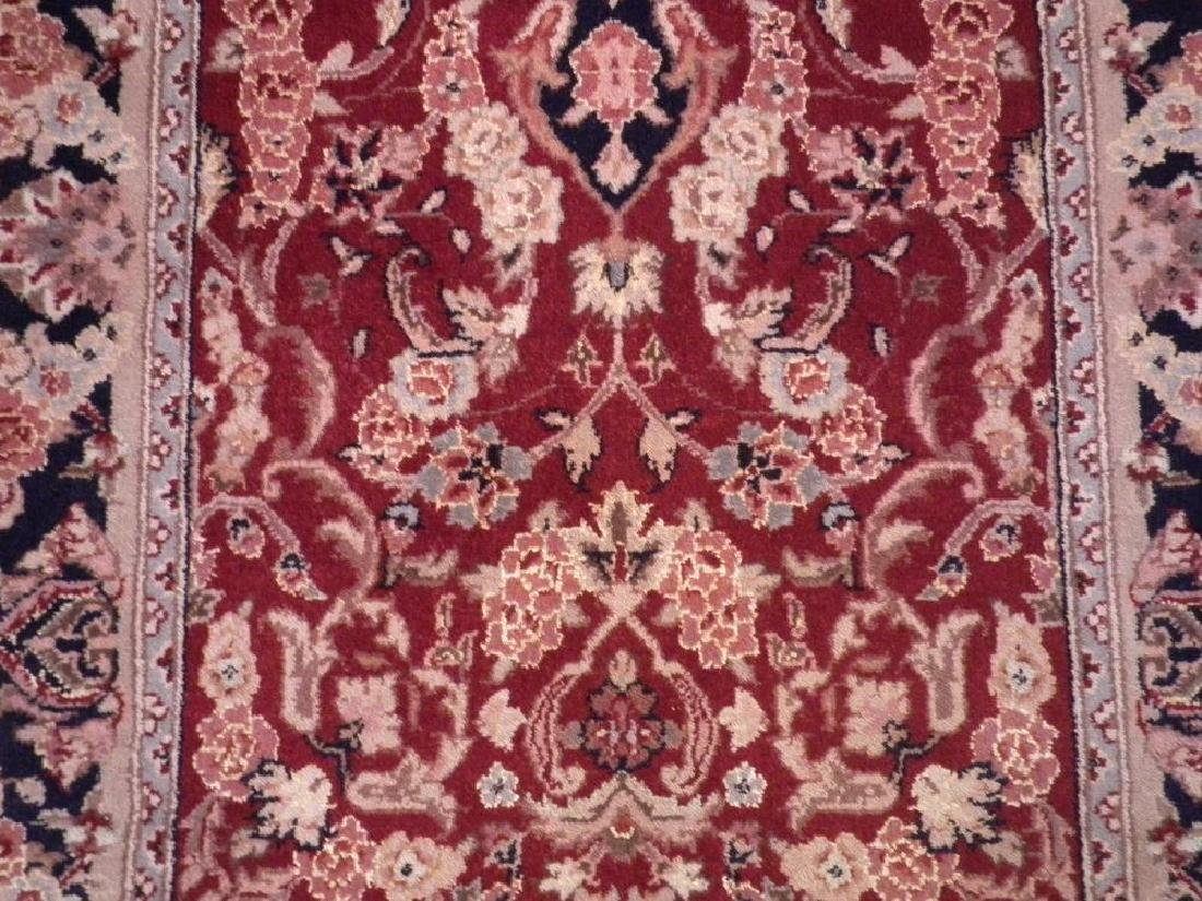 Attractive Wool/Silk Kashan Design Runner 2.3x10 - 3