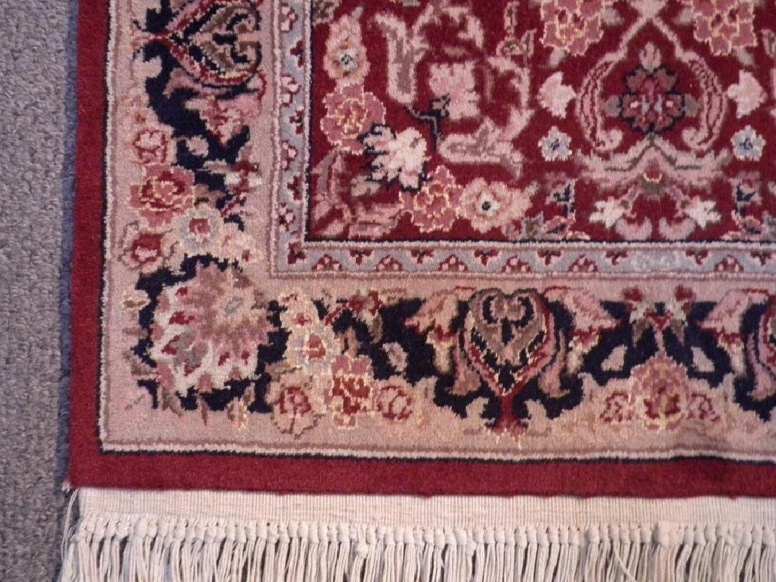 Attractive Wool/Silk Kashan Design Runner 2.3x10 - 5