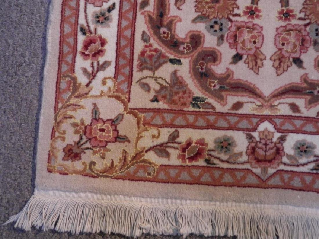 Simply Beautiful Wool/Silk Kashan Design 2.3x11.8 - 6