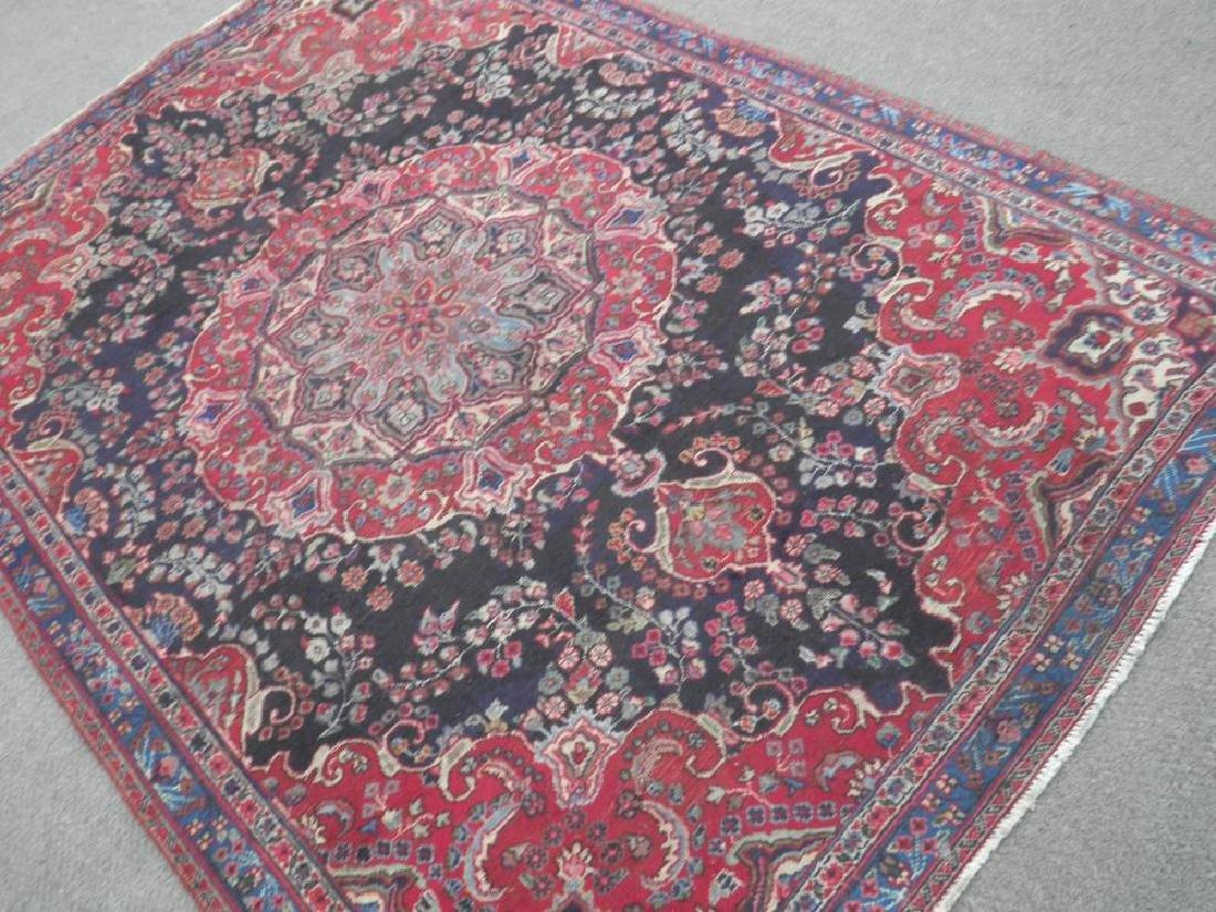 Hand Woven Semi Antique Persian Tabriz 8.5x5.9 - 2