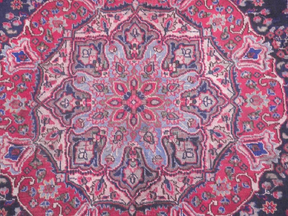 Hand Woven Semi Antique Persian Tabriz 8.5x5.9 - 3