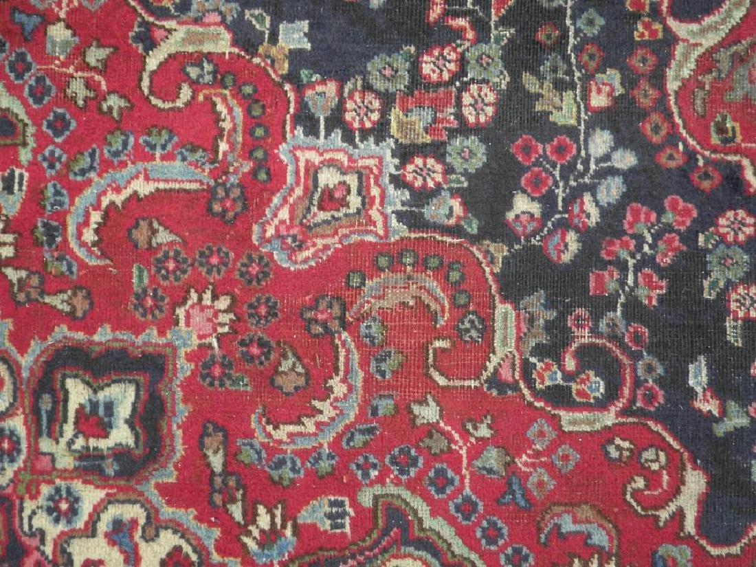 Hand Woven Semi Antique Persian Tabriz 8.5x5.9 - 4