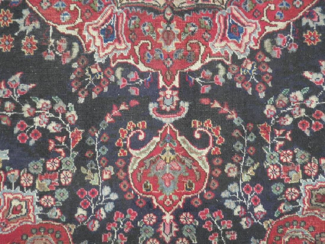 Hand Woven Semi Antique Persian Tabriz 8.5x5.9 - 5