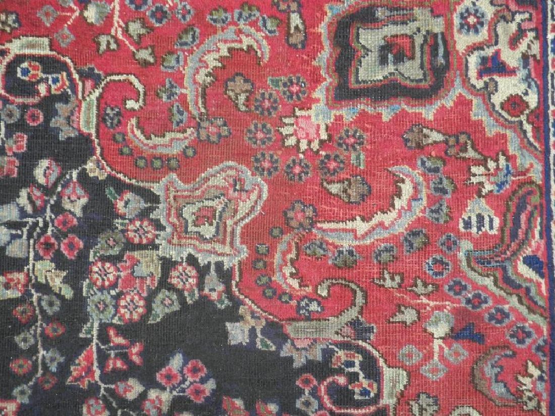 Hand Woven Semi Antique Persian Tabriz 8.5x5.9 - 6
