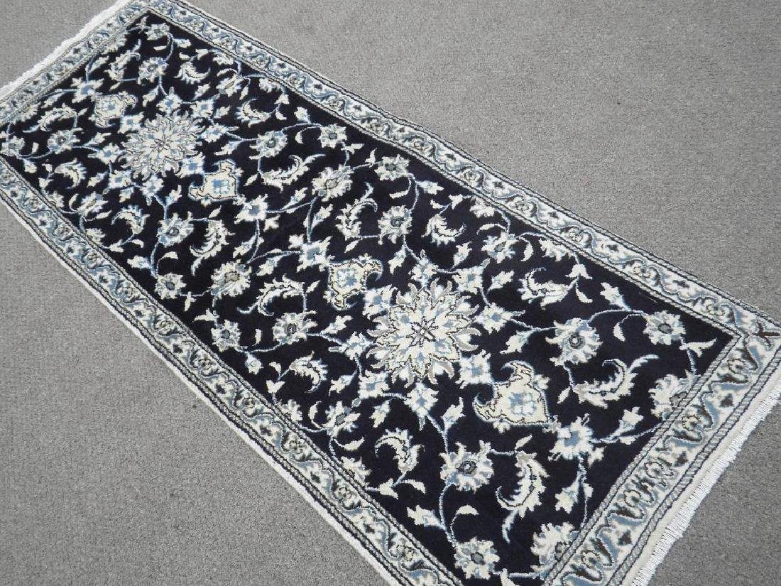 Handmade Persian Nain 6.4x2.6 - 2