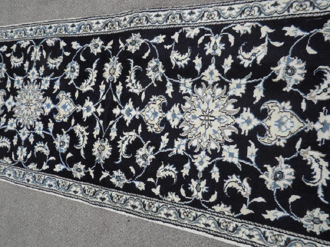 Handmade Persian Nain 6.4x2.6 - 3