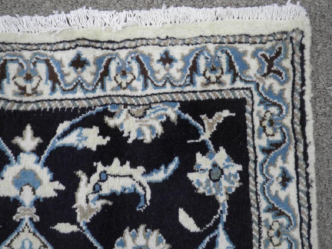 Handmade Persian Nain 6.4x2.6 - 5