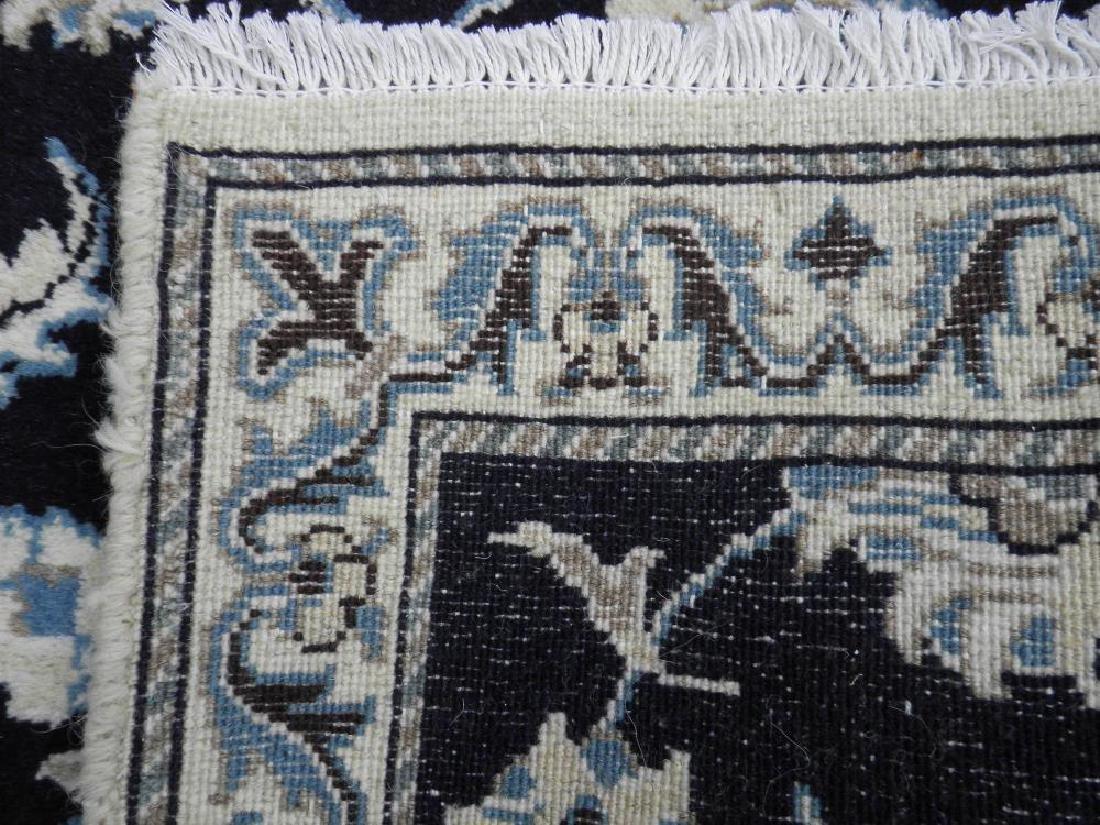 Handmade Persian Nain 6.4x2.6 - 6