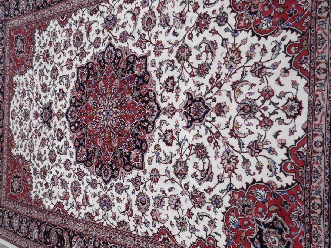 Absolutely Enchanting 50 Raj Persian Tabriz 9.4x6.8 - 3