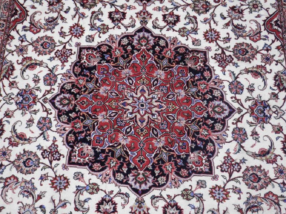 Absolutely Enchanting 50 Raj Persian Tabriz 9.4x6.8 - 4