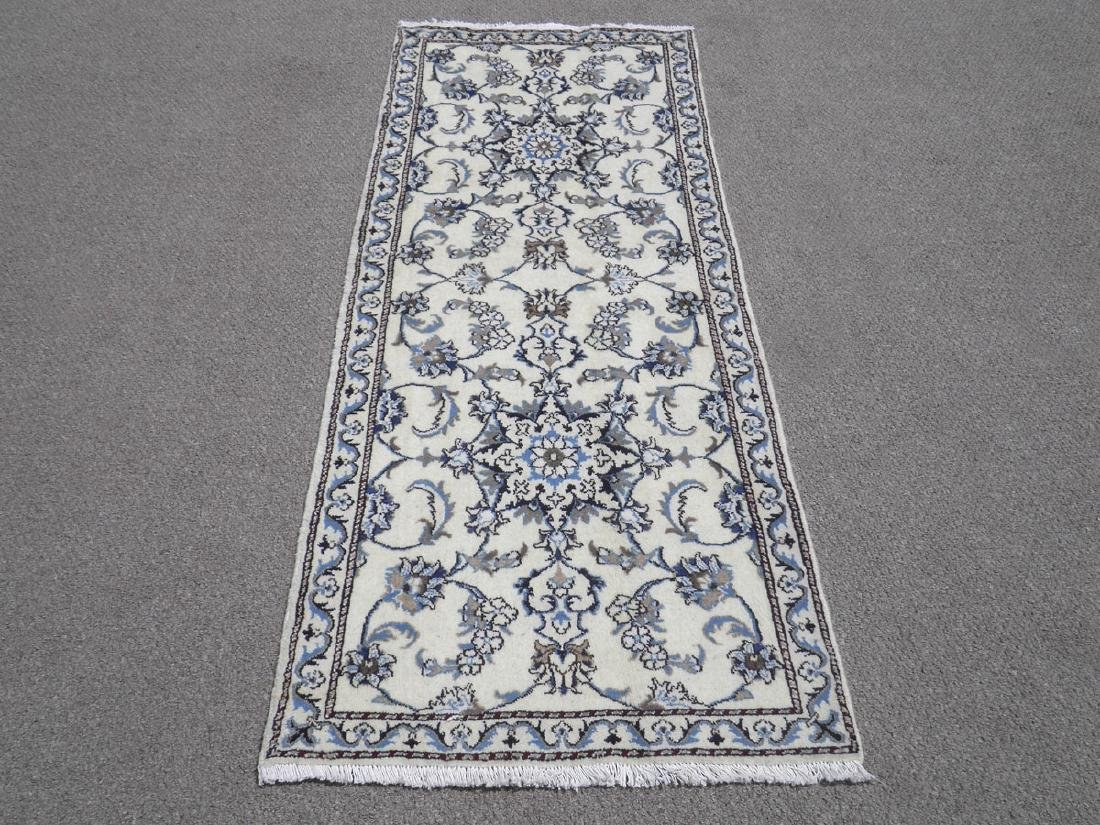 Extremely Gorgeous Handmade Persian Nain 6.4x2.6