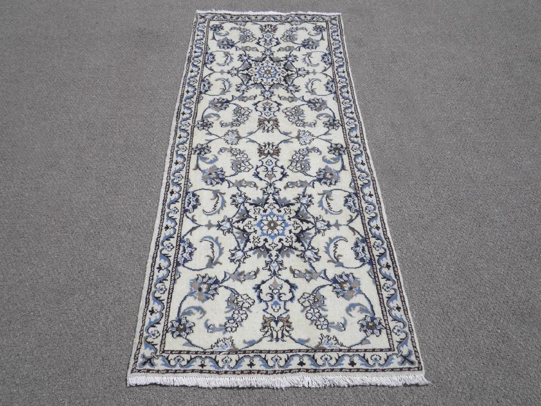 Extremely Gorgeous Handmade Persian Nain 6.4x2.6