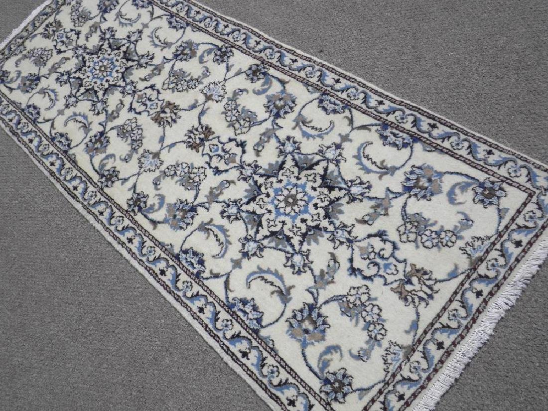 Extremely Gorgeous Handmade Persian Nain 6.4x2.6 - 2
