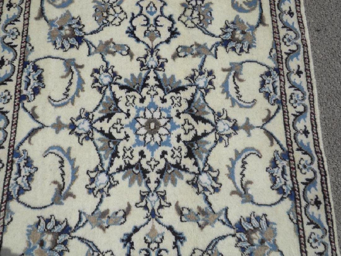 Extremely Gorgeous Handmade Persian Nain 6.4x2.6 - 3