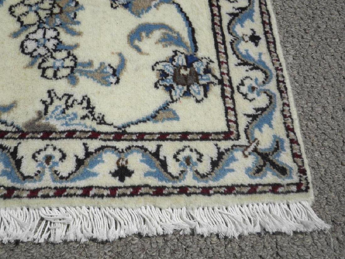 Extremely Gorgeous Handmade Persian Nain 6.4x2.6 - 4