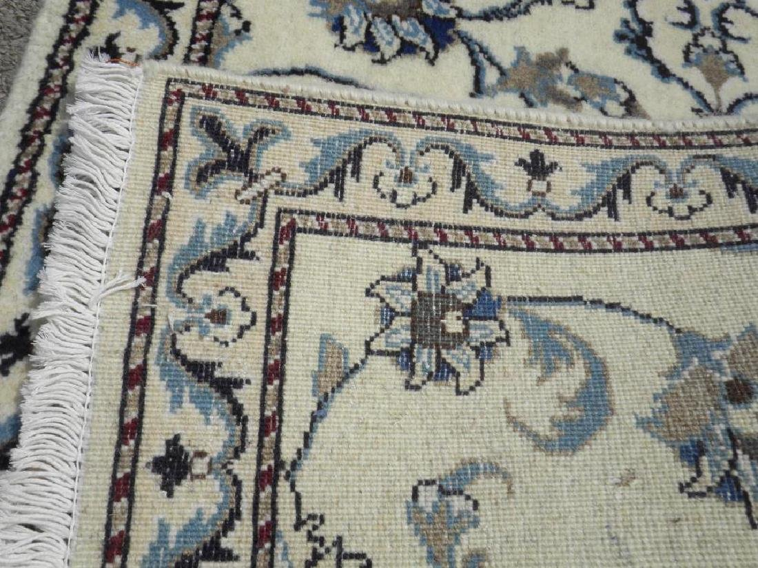 Extremely Gorgeous Handmade Persian Nain 6.4x2.6 - 5