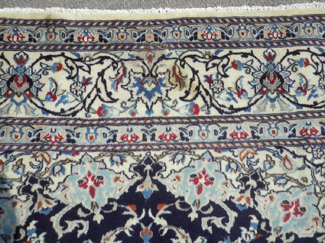 Authentic Semi Antique Wool/Silk Persian Nain 11.5x8.0 - 7