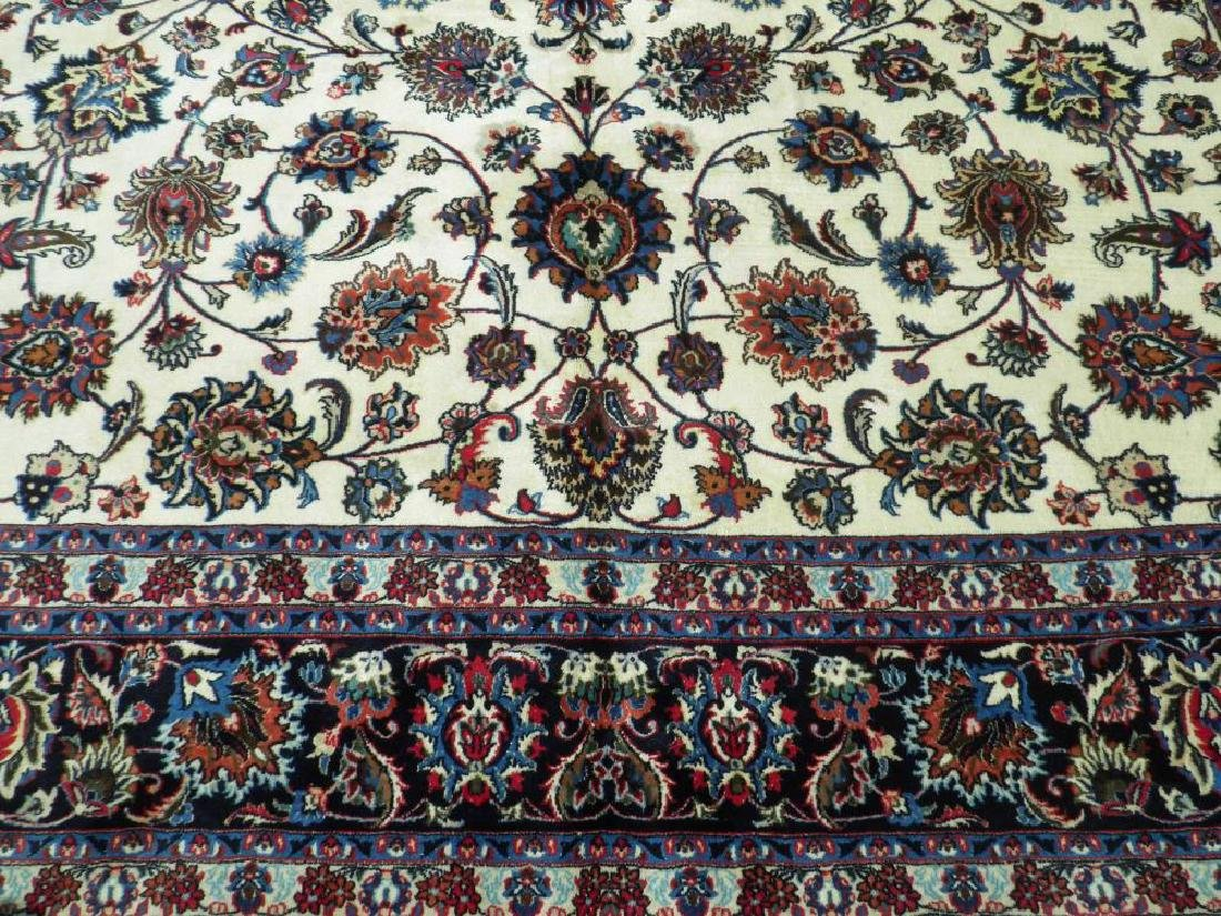 Unique Wool/Silk Allover Persian Tabriz 13.1x9.9 - 4