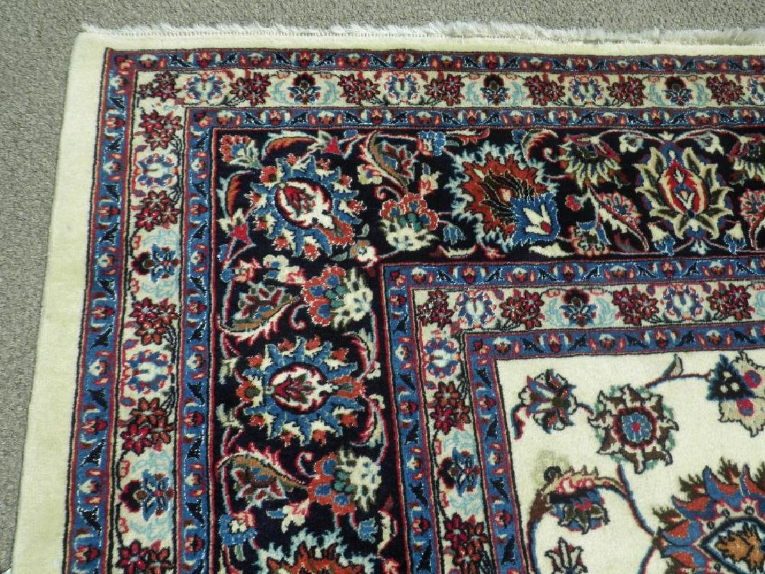 Unique Wool/Silk Allover Persian Tabriz 13.1x9.9 - 7