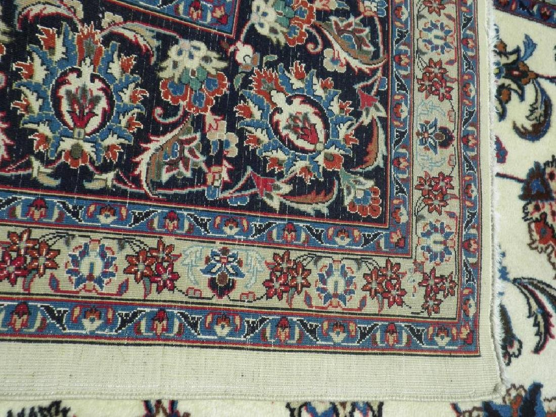 Unique Wool/Silk Allover Persian Tabriz 13.1x9.9 - 8