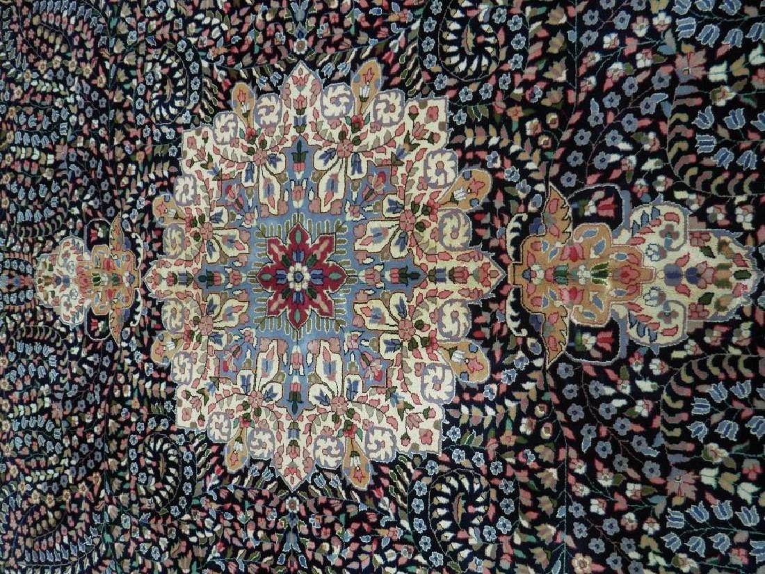 Elegant Handmade Floral Kerman Berkana 10x14 - 5