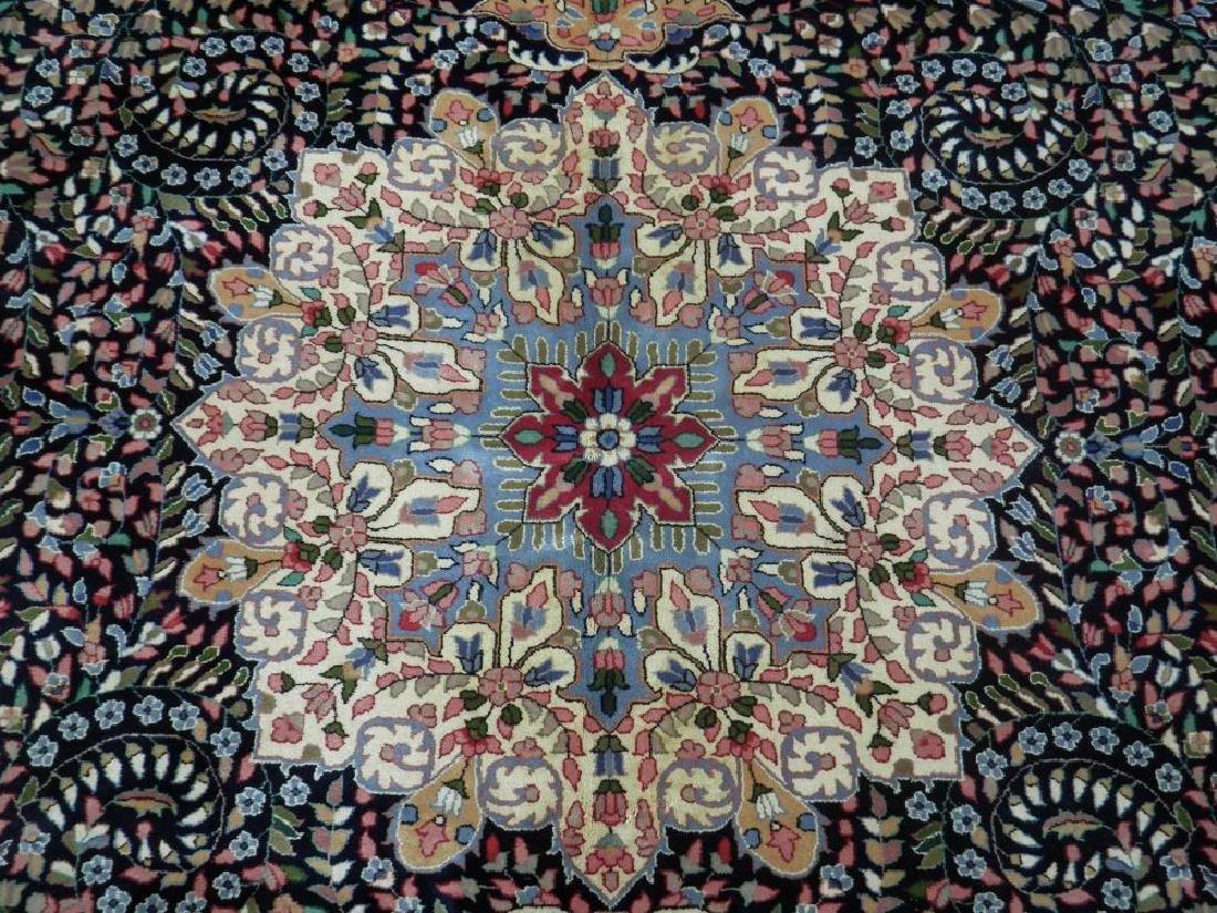 Elegant Handmade Floral Kerman Berkana 10x14 - 6