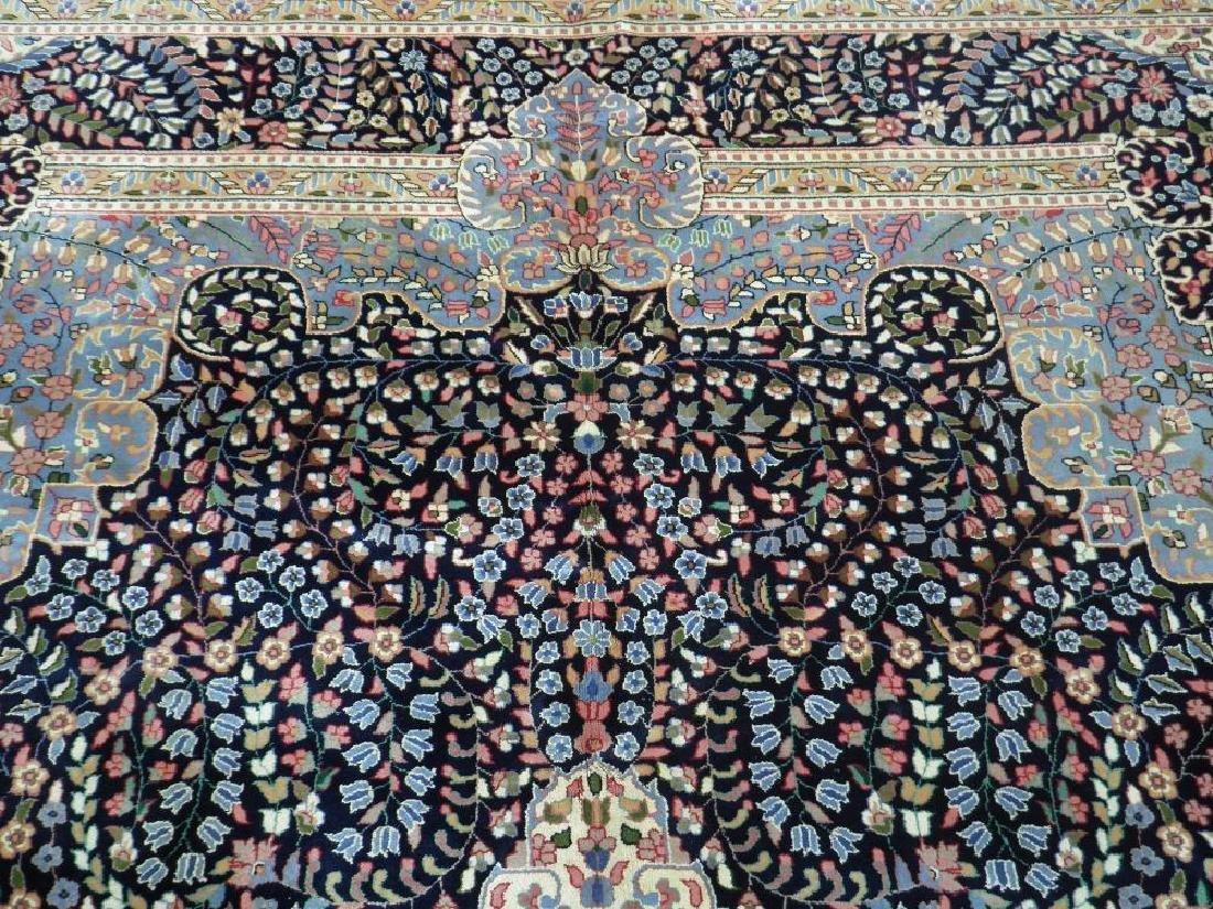 Elegant Handmade Floral Kerman Berkana 10x14 - 7