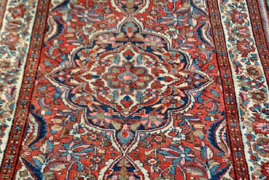 HIGHLY DETAILED HAND WOVEN SEMI ANTIQUE PERSIAN LILIAN - 2
