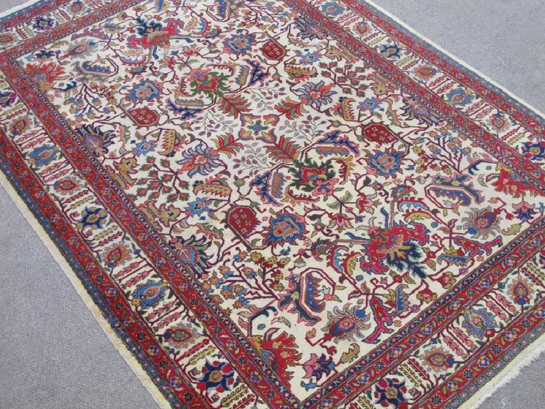 Spectacular Handmade Semi Antique Allover Persian - 2