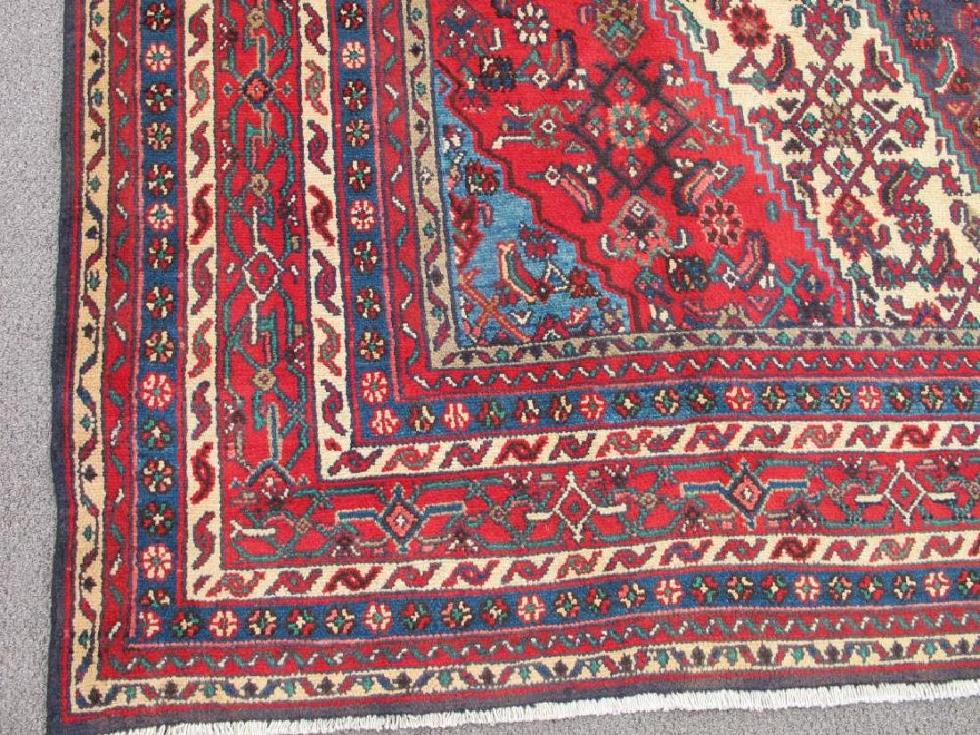 Simply Gorgeous Semi Antique Persian Hosseinabad Rug - 3