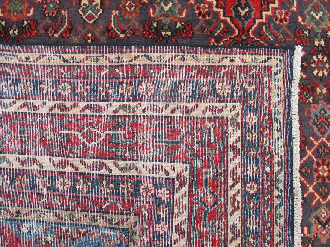 Simply Gorgeous Semi Antique Persian Hosseinabad Rug - 5
