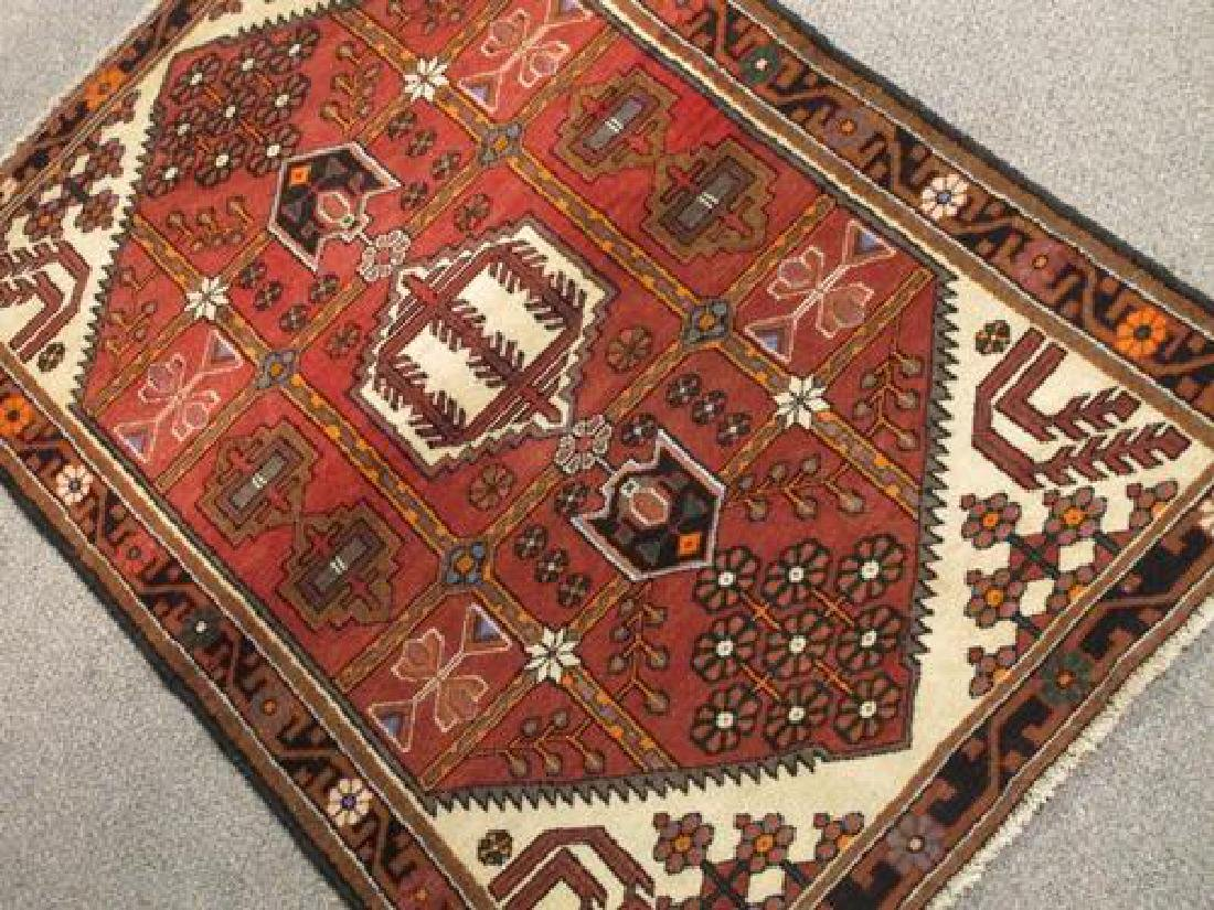 Glorious Hand Woven Semi Antique Persian Tabriz 5.4x3.4 - 2
