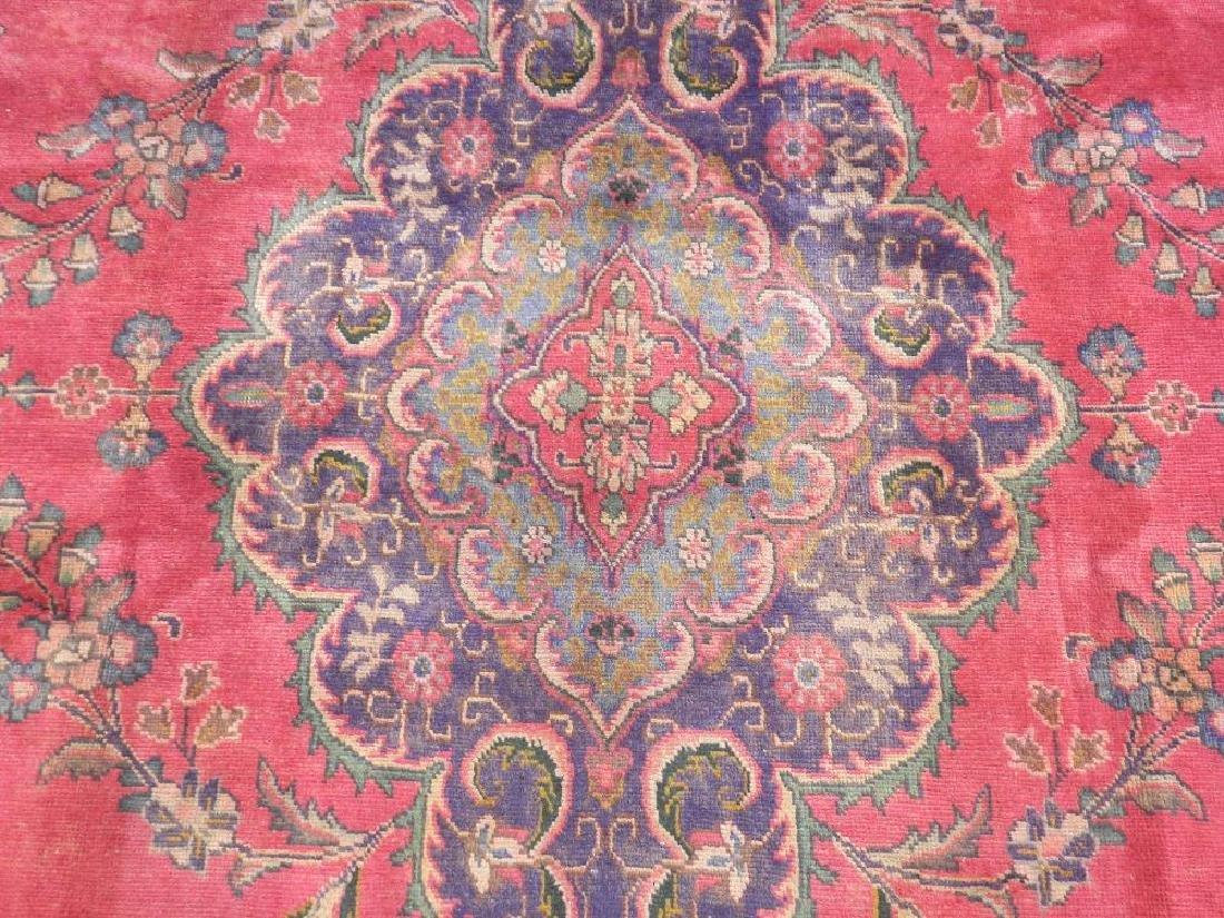Hand Woven Semi Antique Persian Tabriz 12.4x9.5 - 5