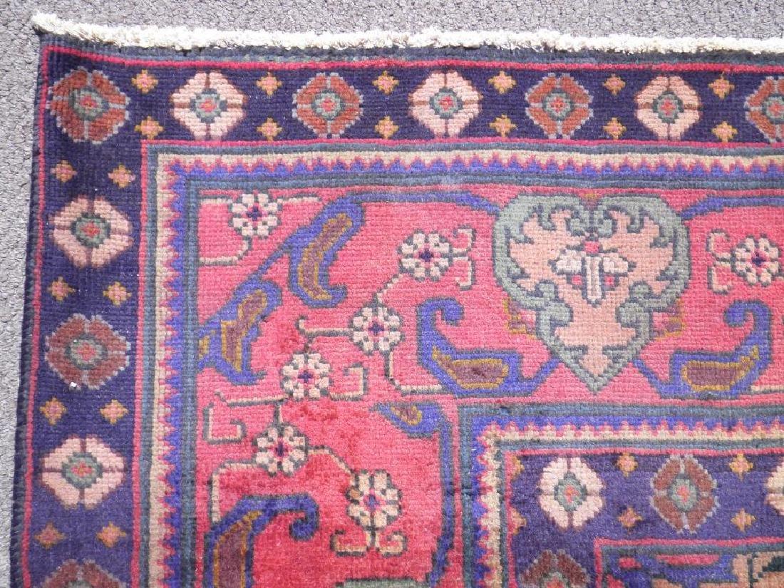Hand Woven Semi Antique Persian Tabriz 12.4x9.5 - 7