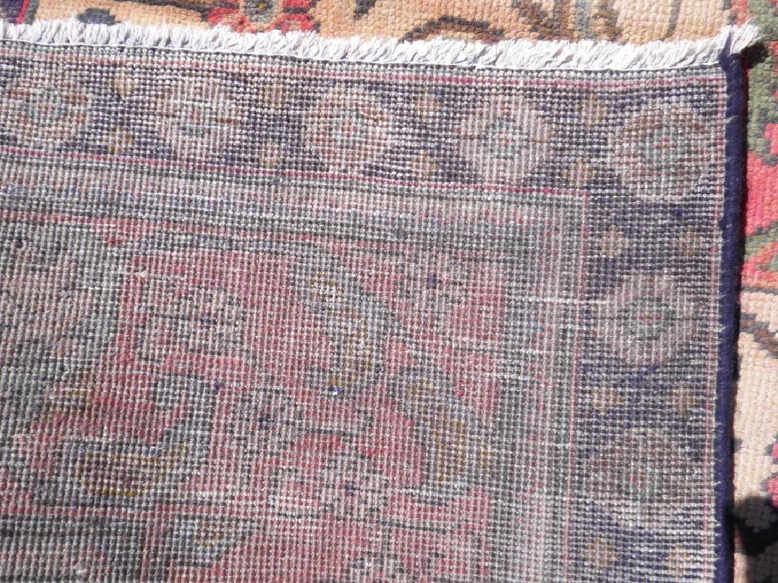 Hand Woven Semi Antique Persian Tabriz 12.4x9.5 - 8