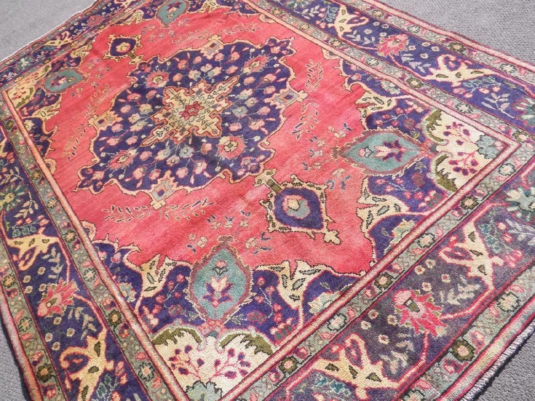 Breathtaking Semi Antique Persian Tabriz 9.5x6.6 - 2