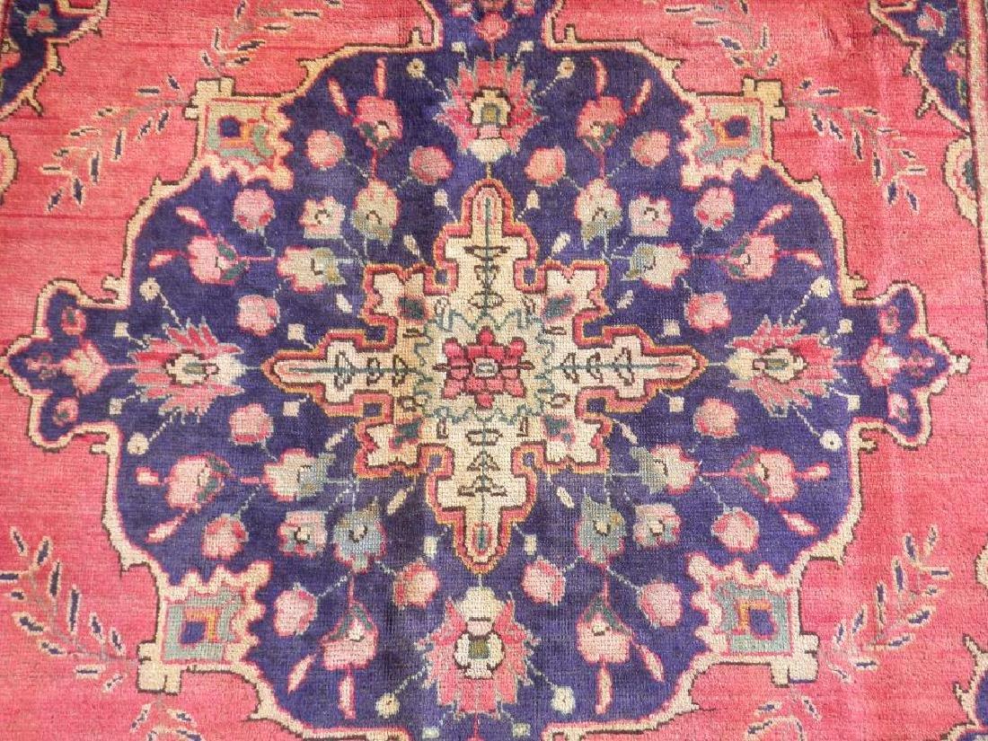 Breathtaking Semi Antique Persian Tabriz 9.5x6.6 - 4