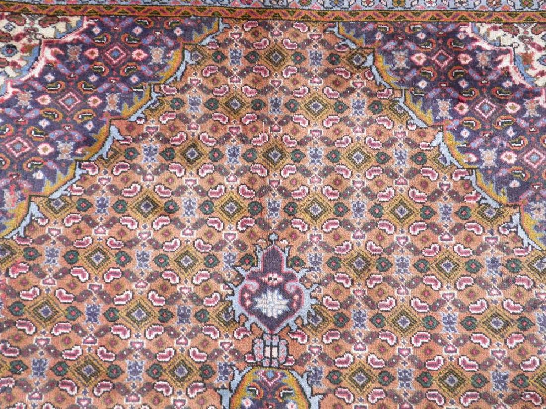 Semi Antique Persian Tabriz Mahi (Fish) Design 9.8x6.6 - 6