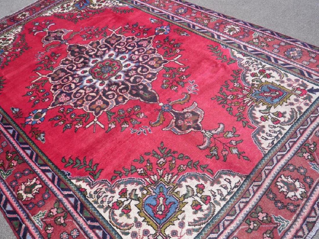 Spectacular Semi Antique Persian Tabriz 9.8x6.8 - 2