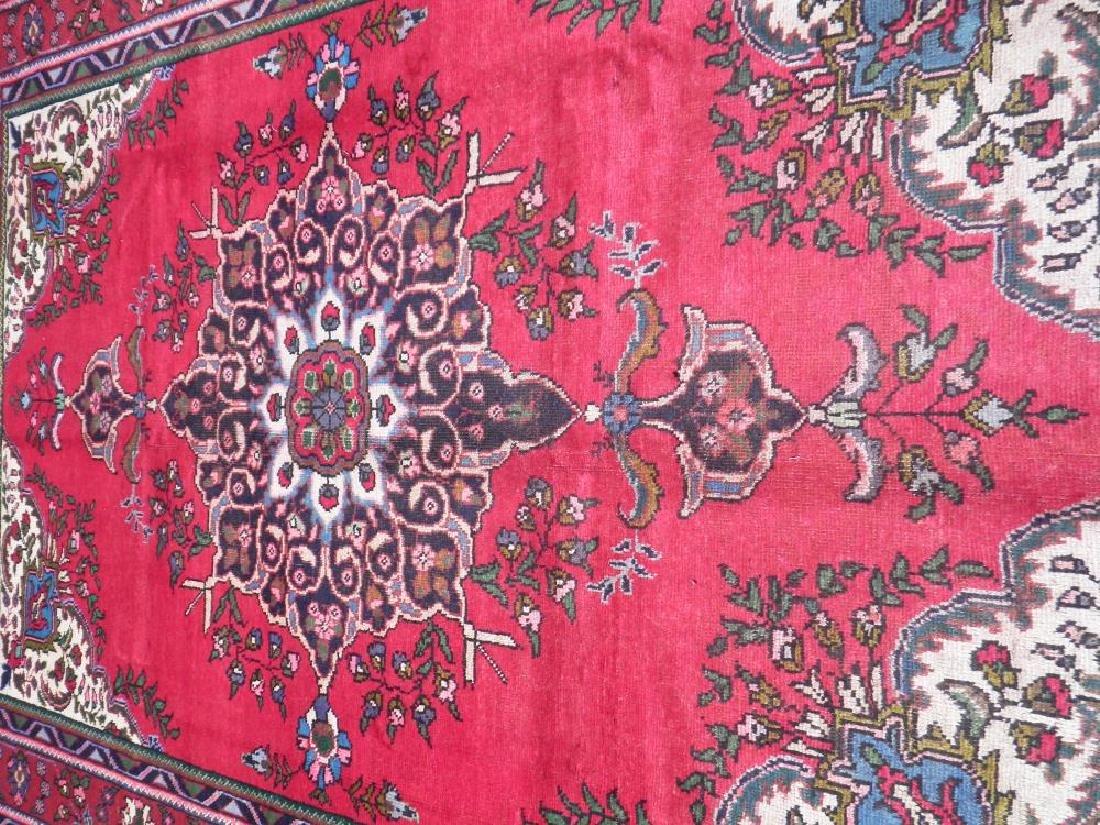 Spectacular Semi Antique Persian Tabriz 9.8x6.8 - 3