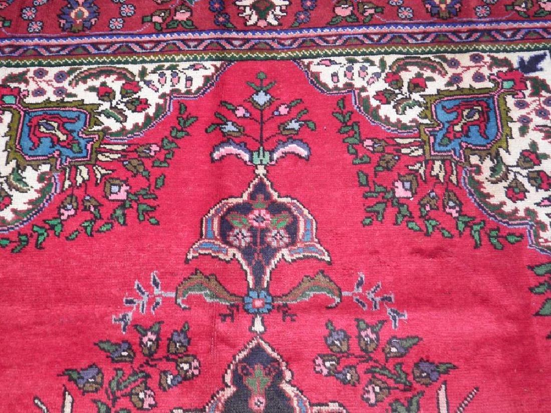 Spectacular Semi Antique Persian Tabriz 9.8x6.8 - 5