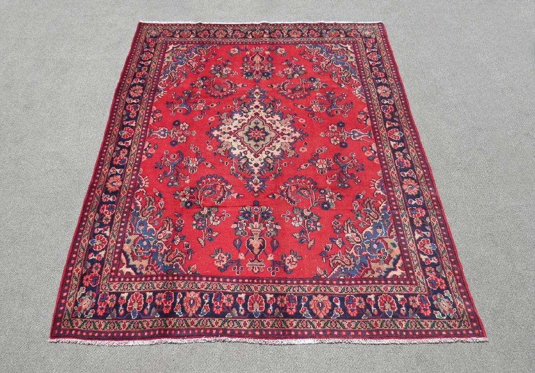 Beautiful Semi Antique Persian Hamedan 10.2x6.9