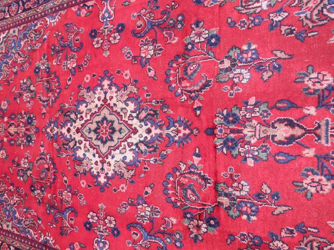 Beautiful Semi Antique Persian Hamedan 10.2x6.9 - 3