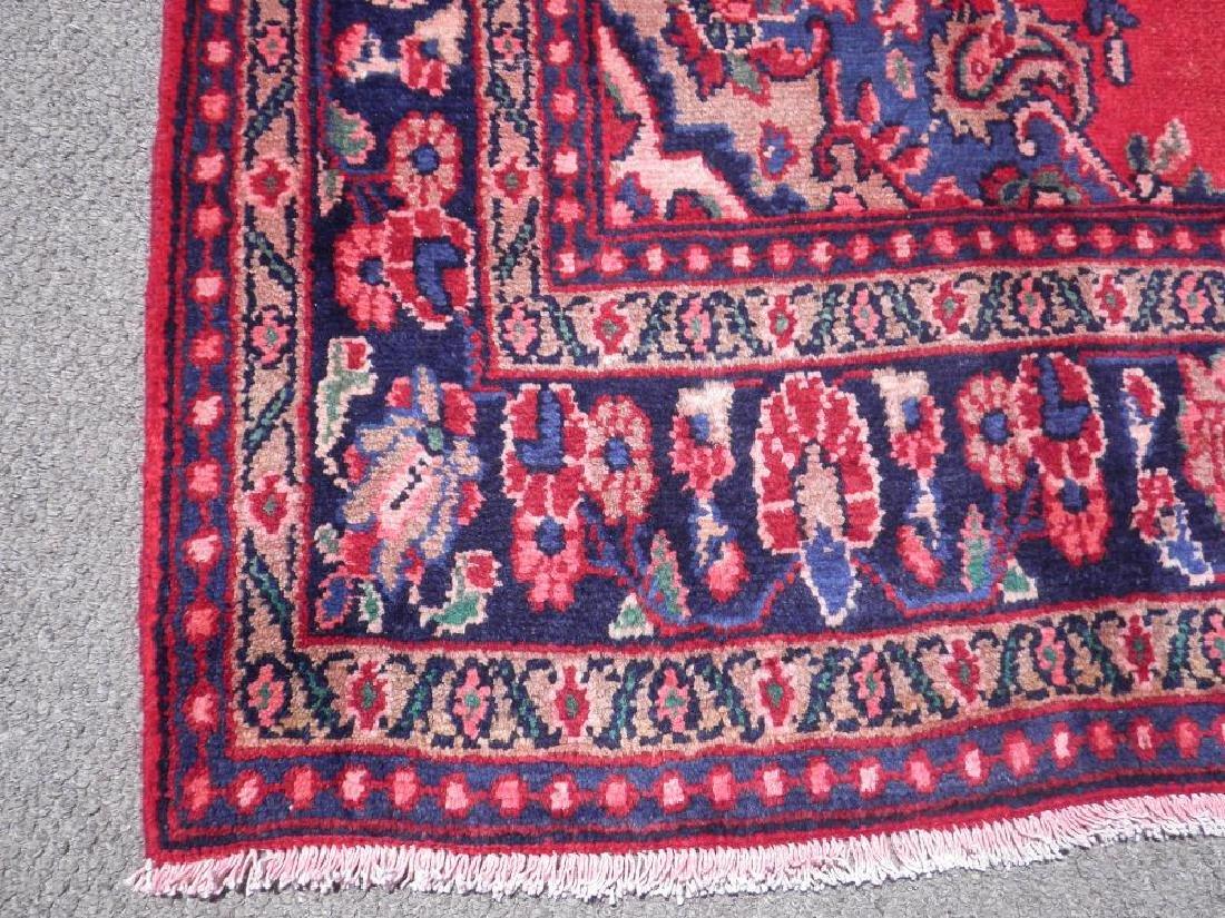 Beautiful Semi Antique Persian Hamedan 10.2x6.9 - 6