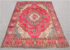 Fascinating Semi Antique Persian Tabriz 13x9.6