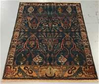 Handmade Indo Persian Design 6.1x8.7