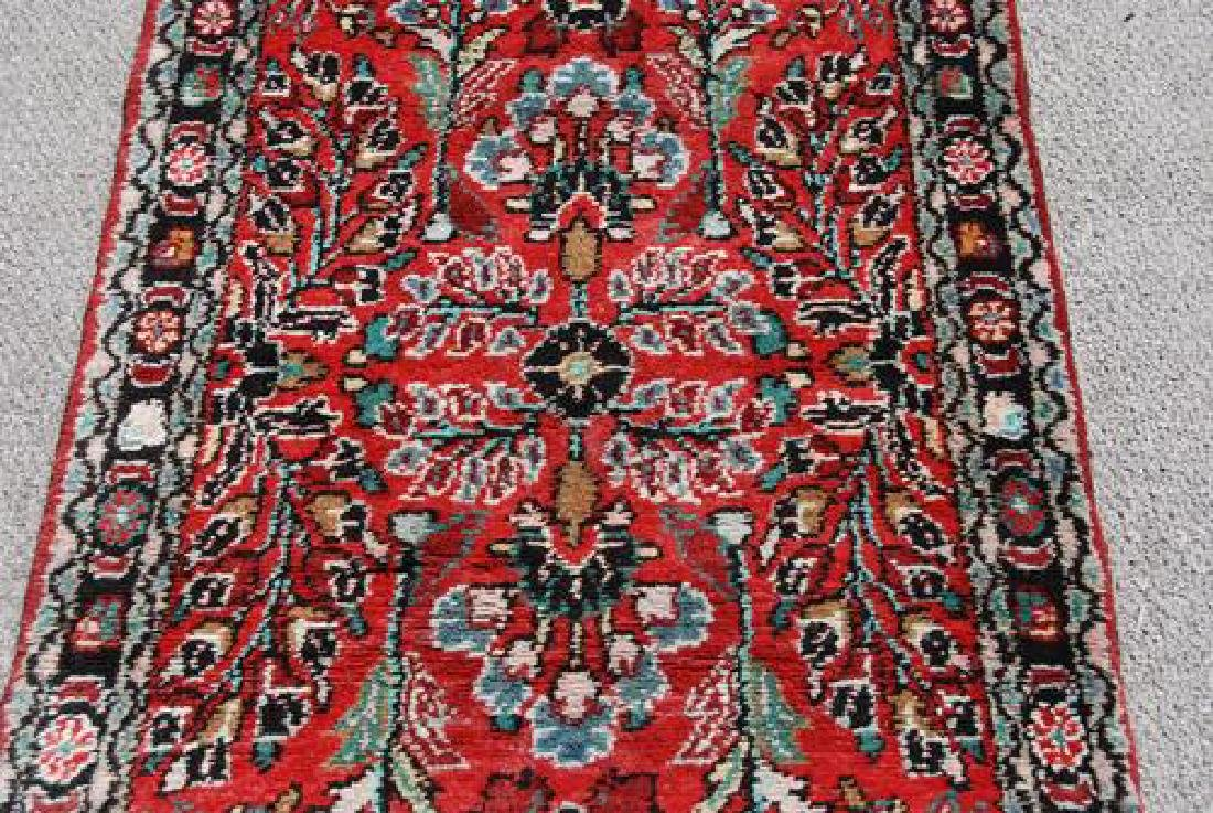 Highly Detailed Floral Design 16' Malayer Runner - 2